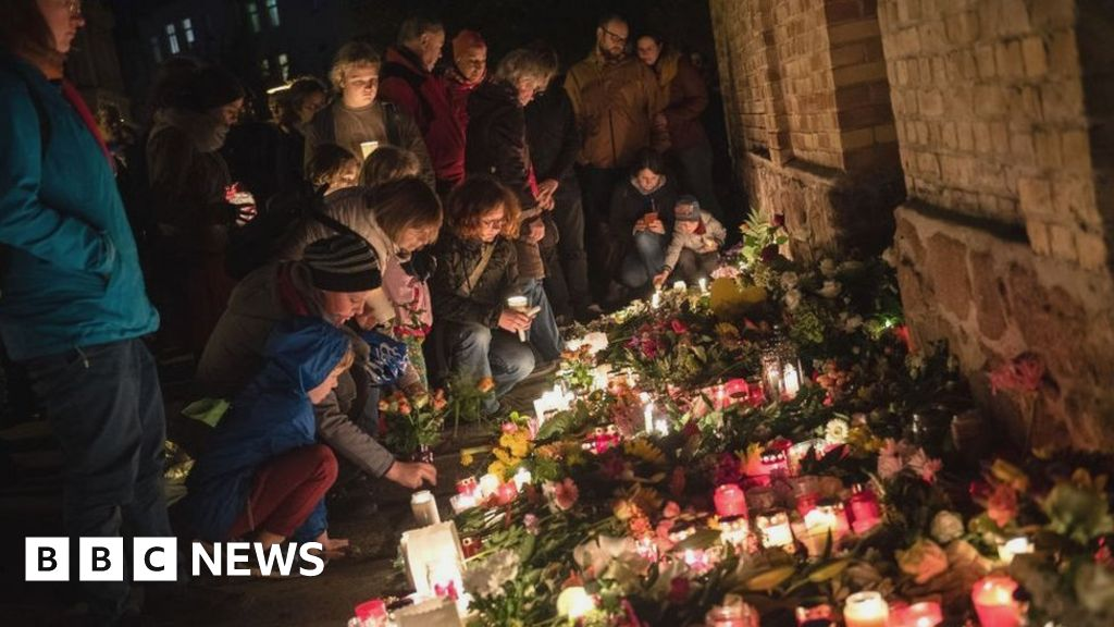 Germany shooting: Horror-Jews targeted in hall attack