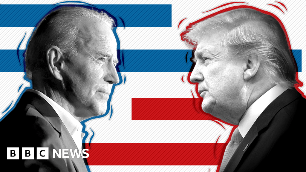 US election 2020 poll tracker: Who is ahead - Trump or Biden?