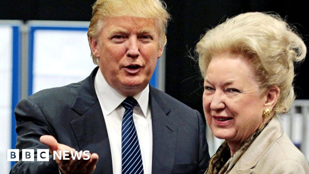 Sister says Trump has 'no principles' -audio