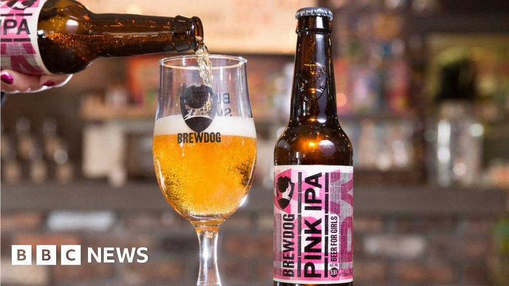 BrewDog's mock Pink IPA 'beer for girls' splits opinion - BBC News