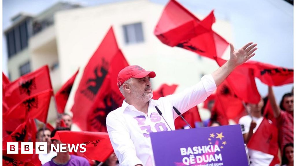 Albania set for tense local election day