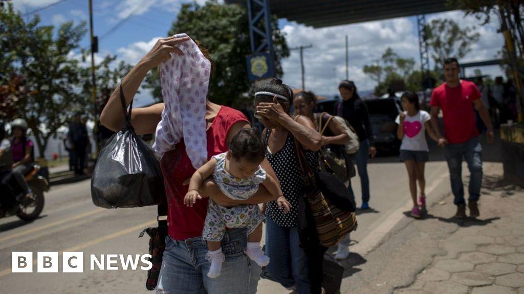 Venezuelans flee to Brazil despite attacks