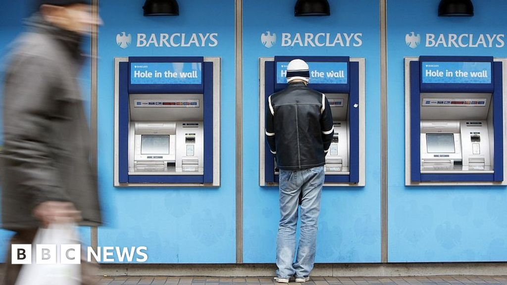Barclays pushed into loss by US payout - BBC News