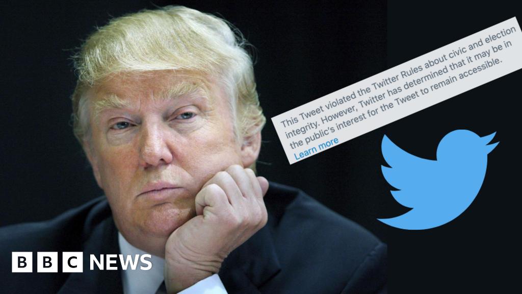 Trump's postal-vote tweet misleading, says Twitter