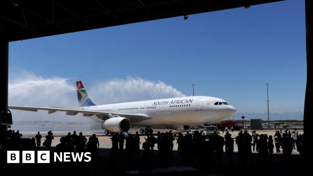 South African Airways pilot resigns over fake licence - BBC News