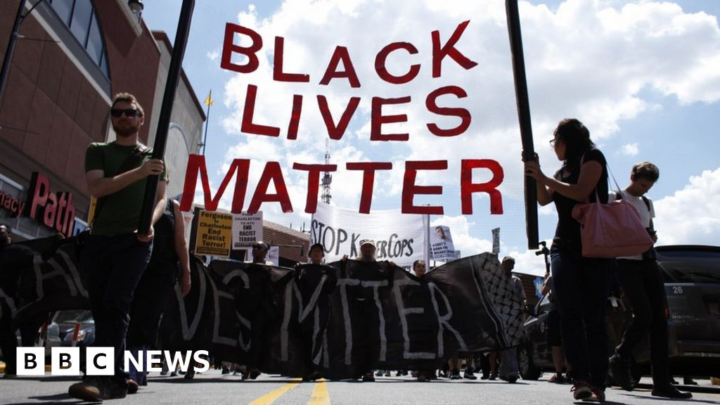How Black Lives Matter was blamed for killing of US police ...