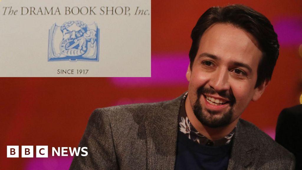 Lin-Manuel Miranda buys bookshop