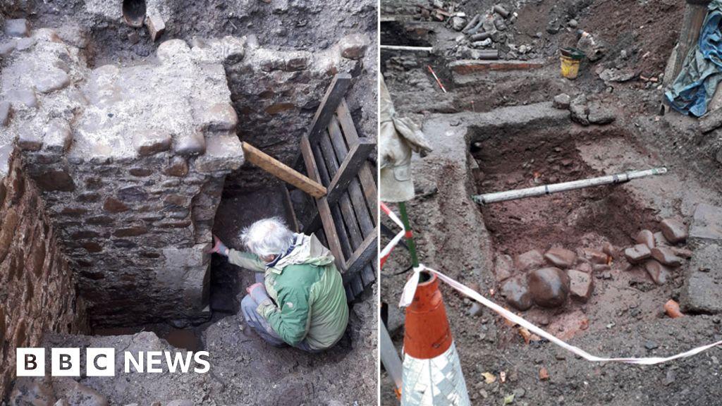 Medieval building found in Llandaff under public toilets