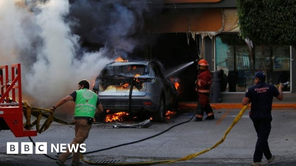 Mexican city of Celaya rocked by cartel violence thumbnail