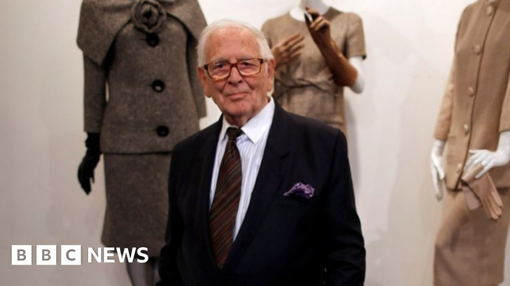 Weird Italy _116331493_tv064985748 Pierre Cardin: French fashion designer buried in Paris What happened in Italy today