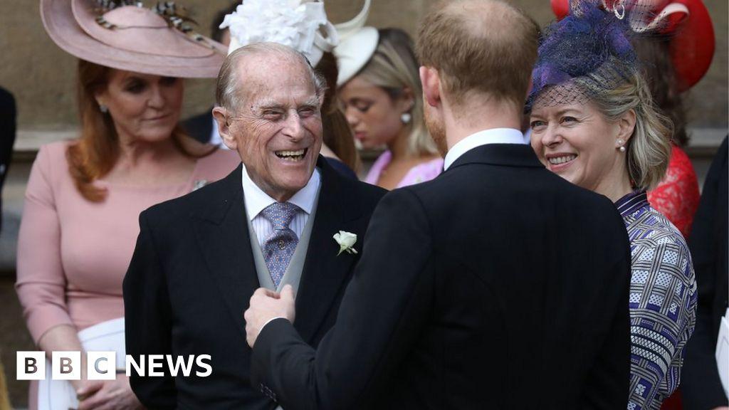 Prince Philip taken to hospital