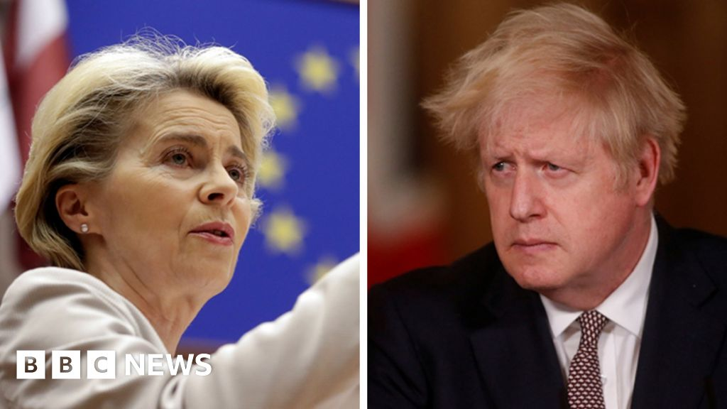 Brexit: Boris Johnson and EU chief seek to break trade deal deadlock