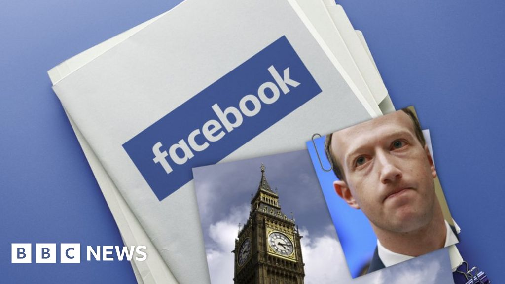 MPs publish seized Facebook files