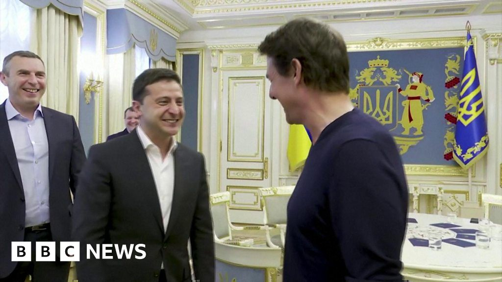 Tom Cruise meets to discuss the Ukrainian President, new movie