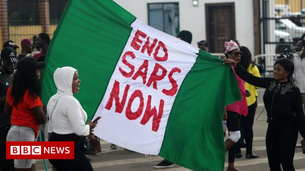 End Sars: Hated Nigerian police unit's founder 'feels guilty'