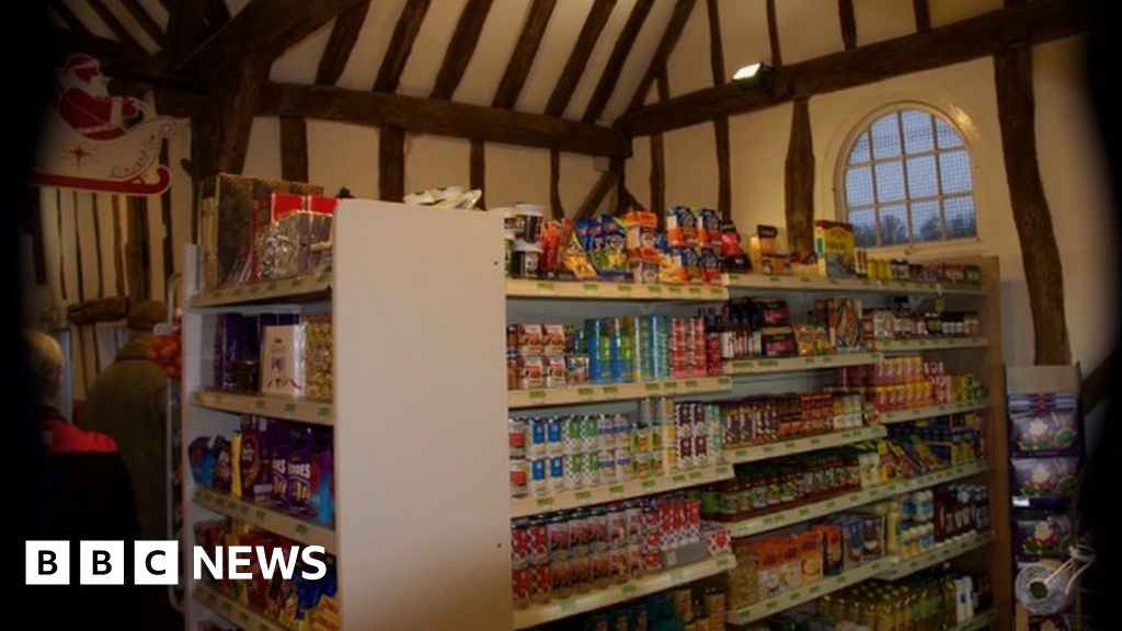 Dedham Co Op Sets Up In Barn After Ram Raid   BBC News