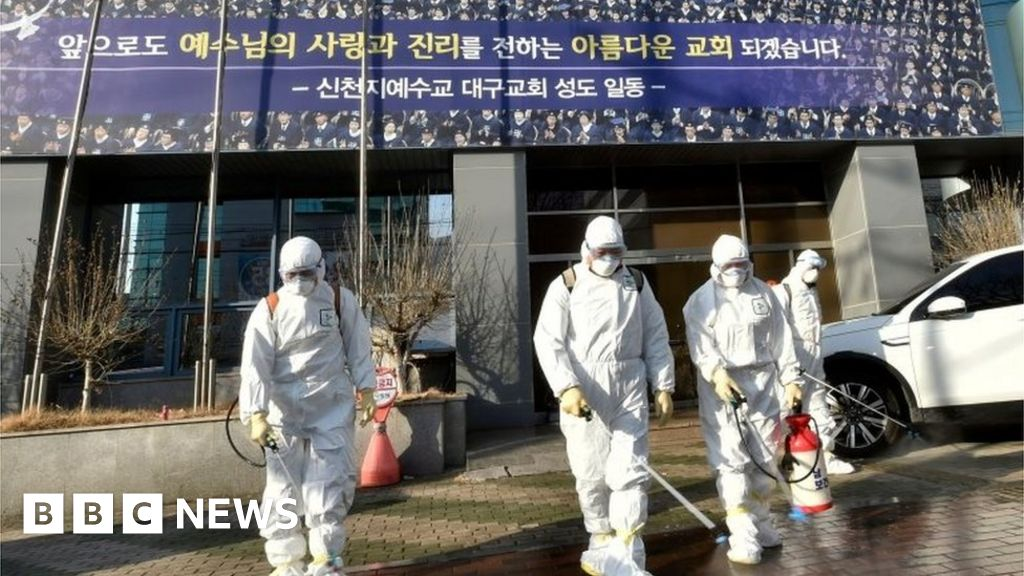 South Korean sect identified as coronavirus hotbed