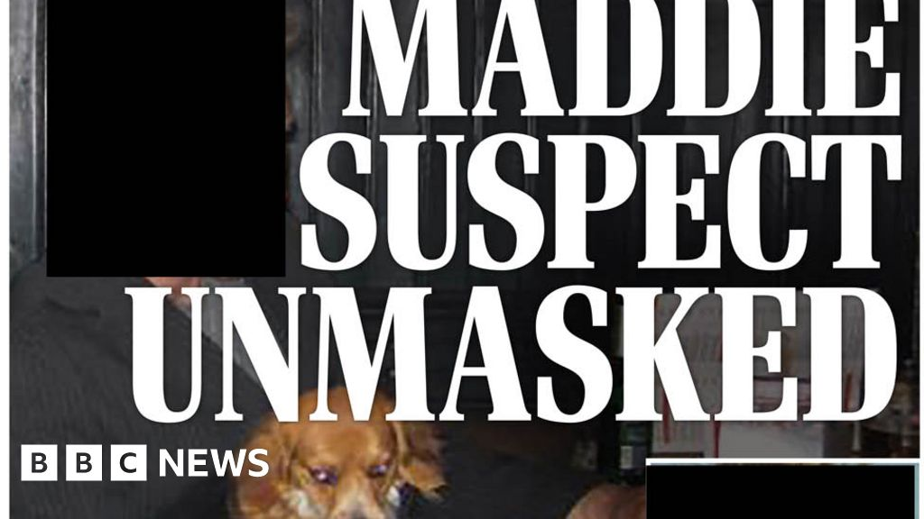 Headlines: suspect in the case of Madeleine  exposed  in papers