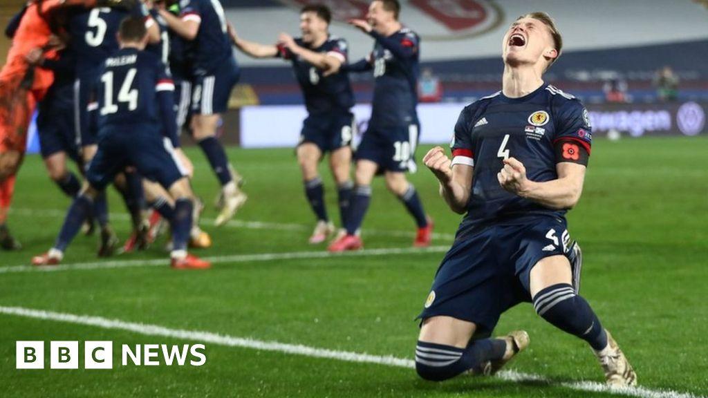Scotland celebrates Euro finals qualification