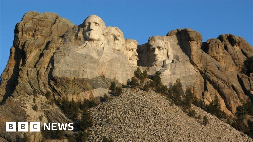 Native Americans to protest towards Trump go to to Mount Rushmore thumbnail