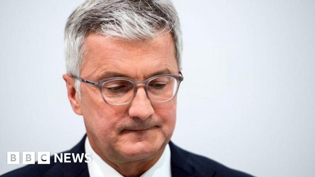 Audi chief Rupert Stadler arrested in diesel emissions probe