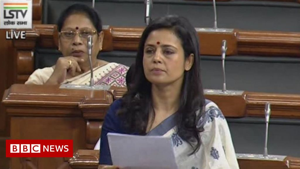 Indian MP's 'rising fascism' speech wins plaudits