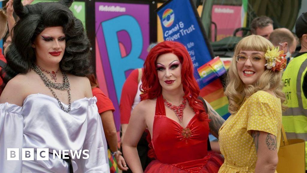 Birmingham Pride: Thousands enjoy colourful parade through city centre