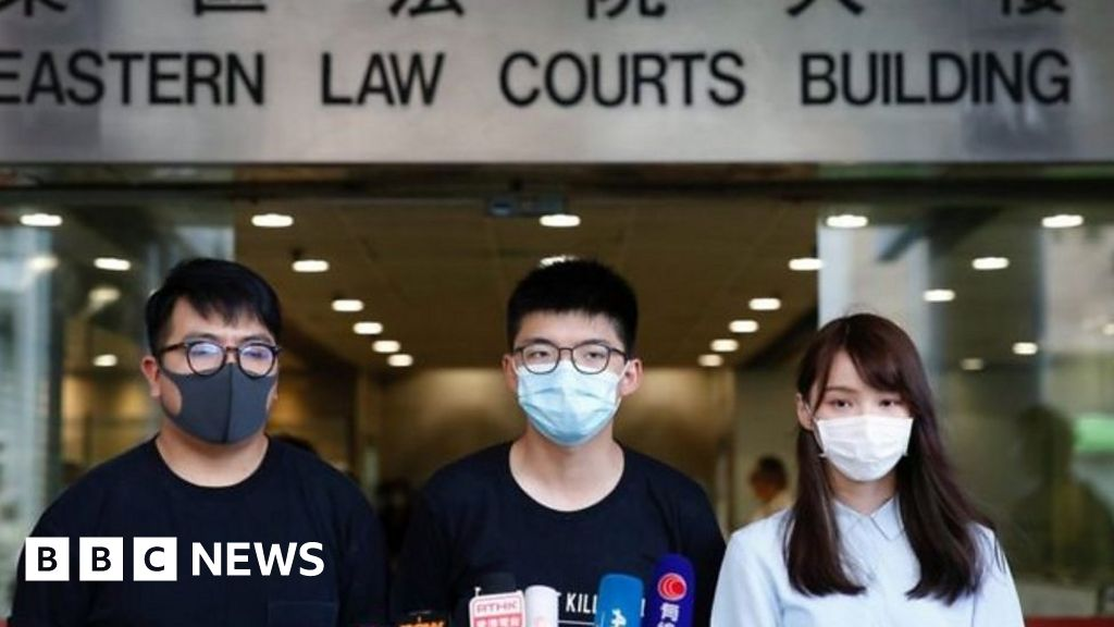 'Now is the time to face with Hong Kong' - Joshua Wong thumbnail