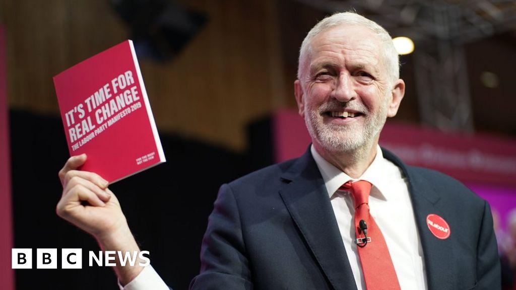 Election 2019: Jeremy Corbyn launches Labour Party manifesto thumbnail
