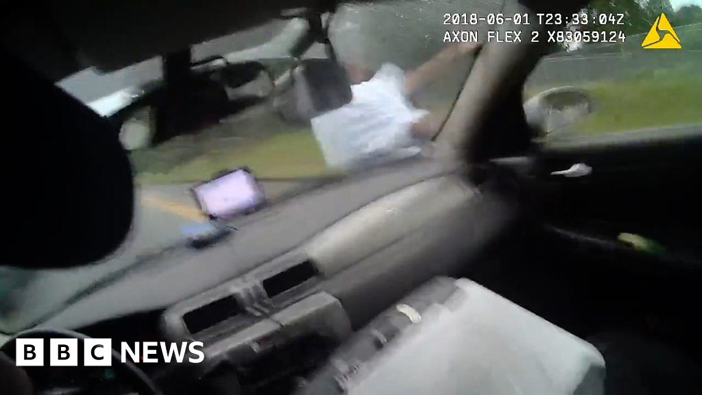 Officer fired for hitting suspect with car