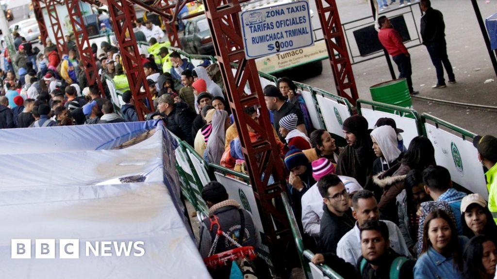 Ecuador slams door on Venezuelans thumbnail