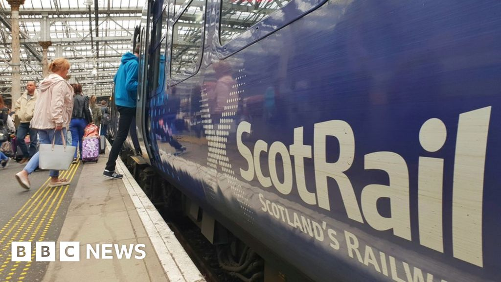 passengers mounting train