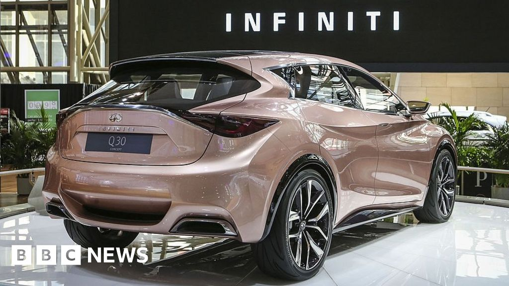 Nissan cuts two models from Sunderland plant - BBC News