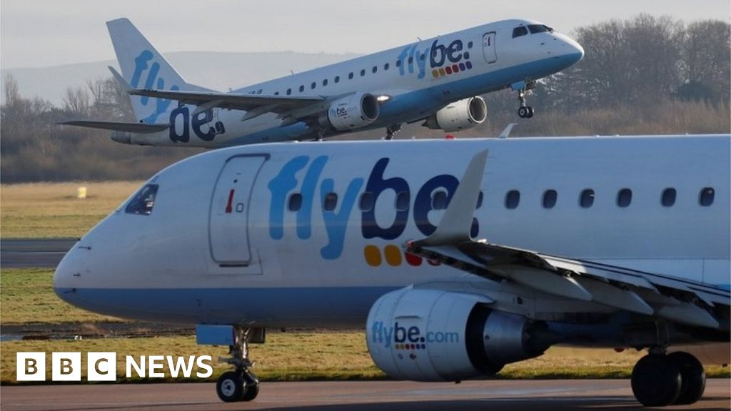 Struggling airline Flybe 'set to collapse within hours'