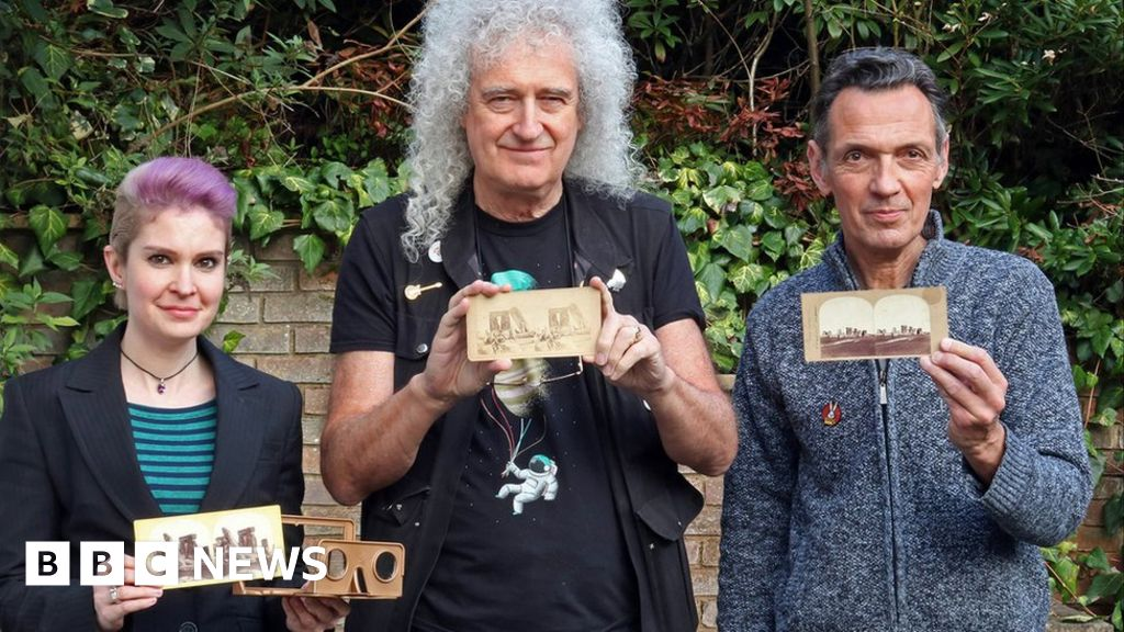 Stonehenge: Brian May finds oldest family photo