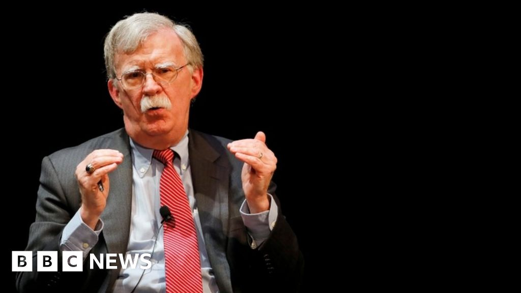 John Bolton: Trump s sought Xi s help in re-election