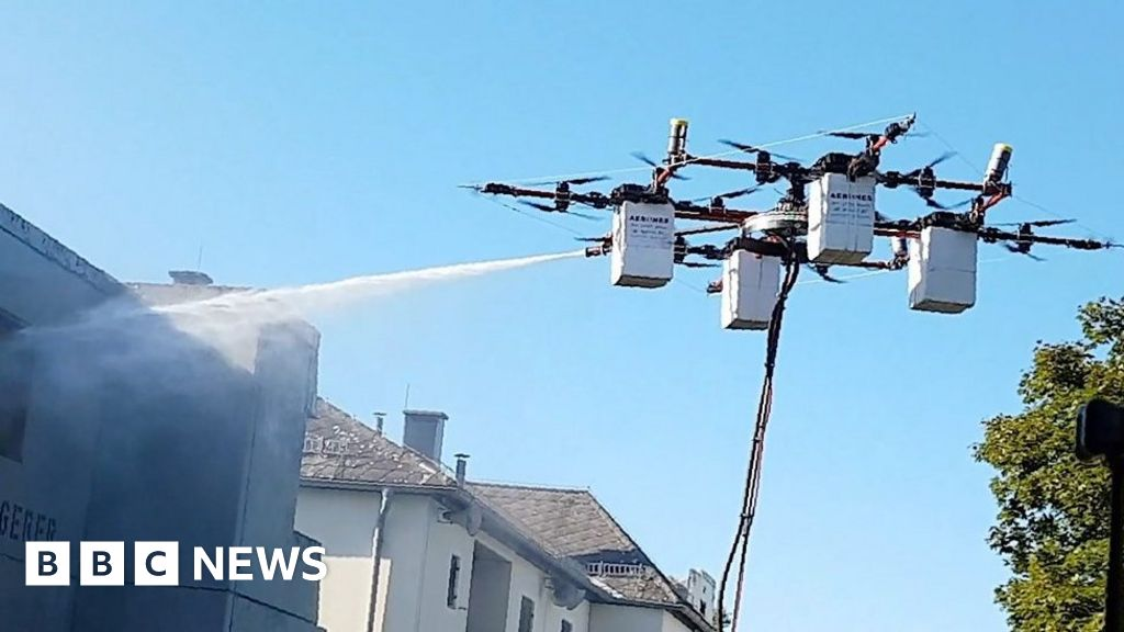 Window Washing Drone Takes Flight