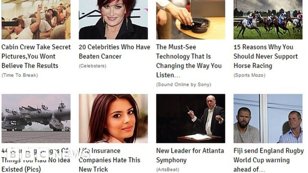 Clickbait The Changing Face Of Online Journalism Bbc News