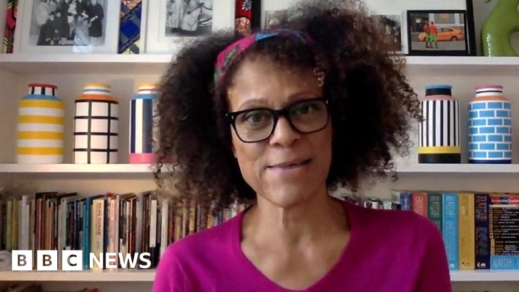 "Author Bernardine Evaristo: ""This is a historic moment"""