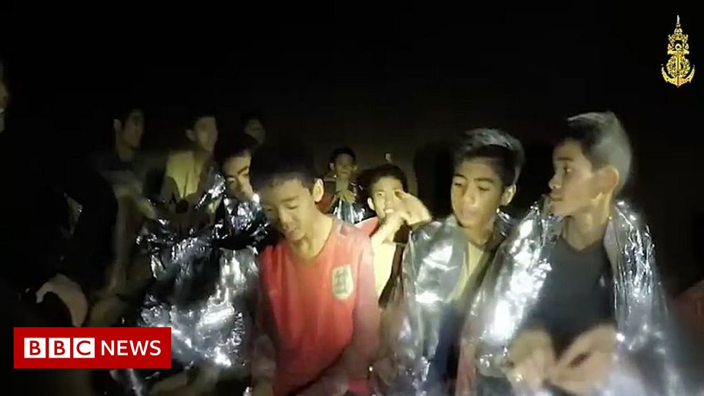 'D-Day' arrives for boys in the Thai cave