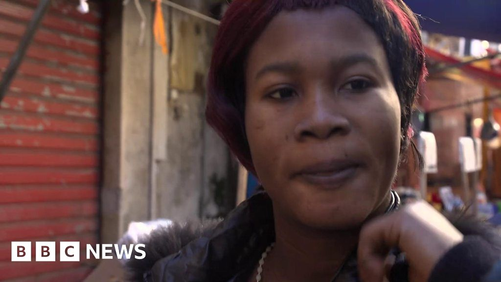 Trafficked into prostitution with black magic