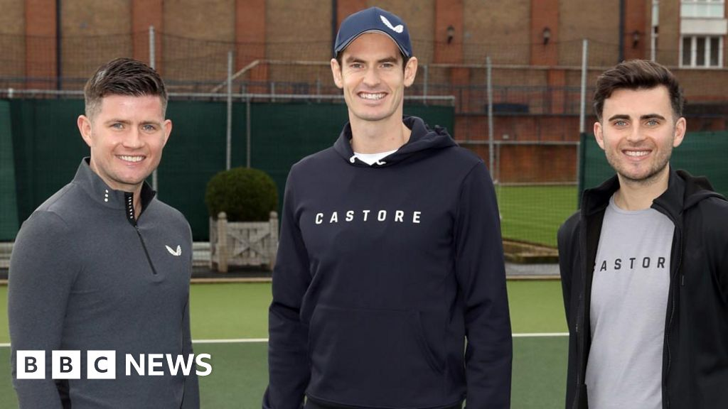 The young brothers who signed up Andy Murray