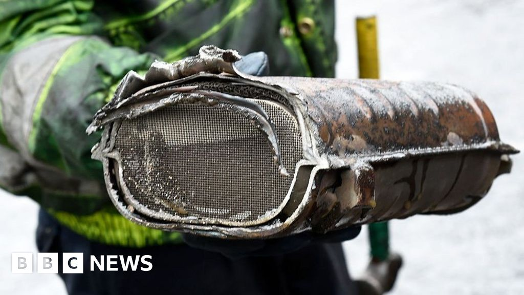 catalytic converter serial number search