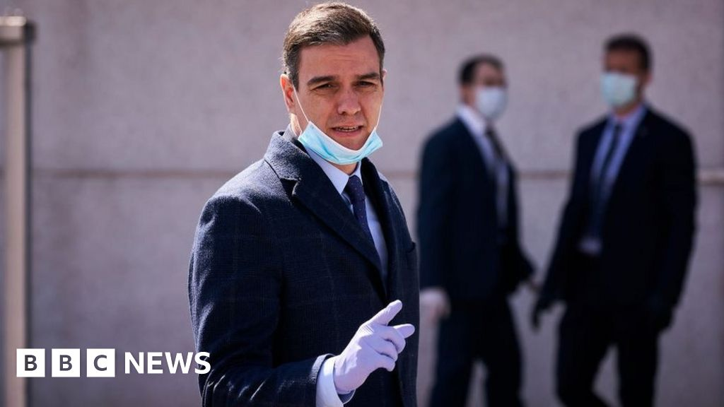 Coronavirus: Spain PM sees fire