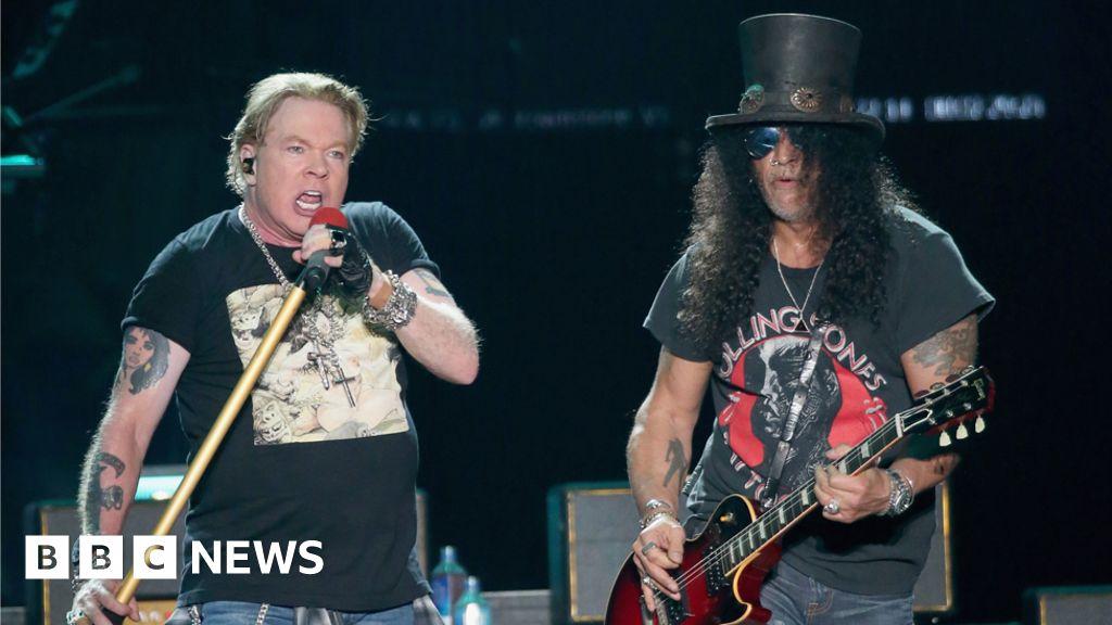 Guns N' Roses: Sweet Child O' Mine hits 1bn YouTube views