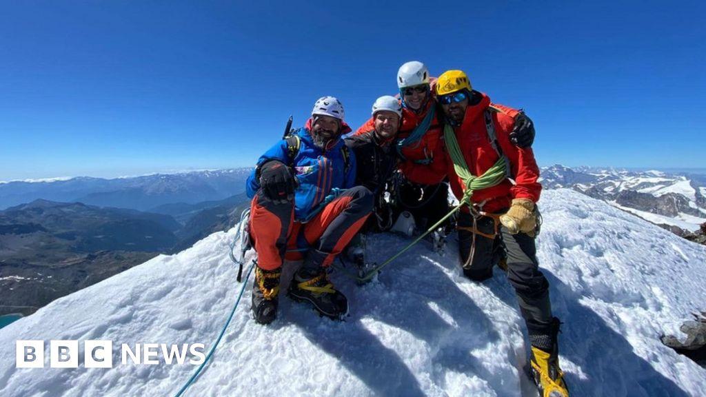 Poole amputee soldier makes history on Matterhorn summit