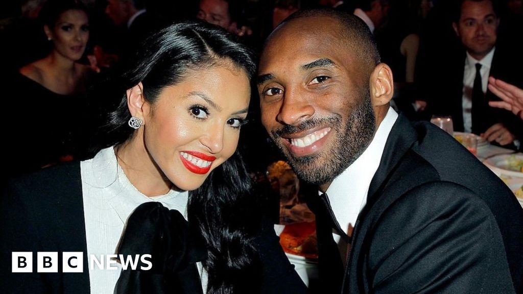 Kobe Bryant s wife Vanessa first heard of his death online