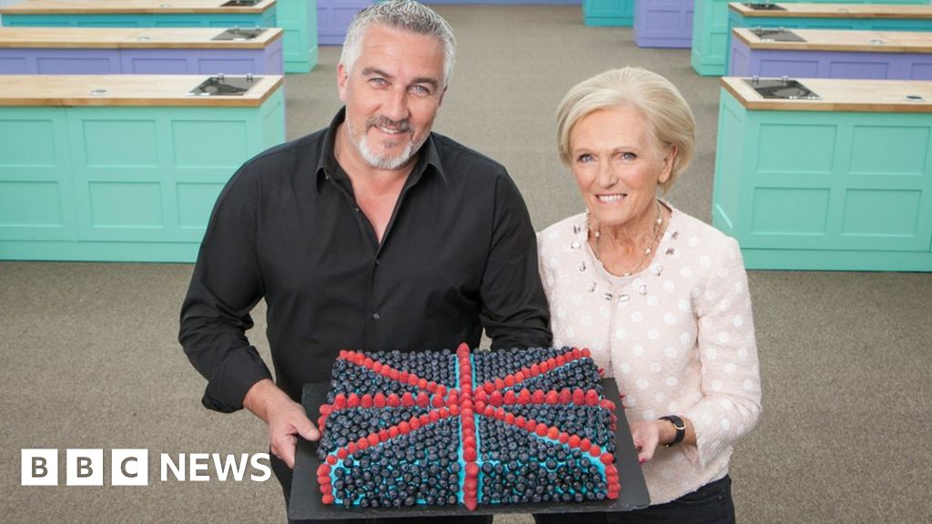 Great British Bake Off Mary Berry Leaves But Paul Hollywood Stays Bbc News