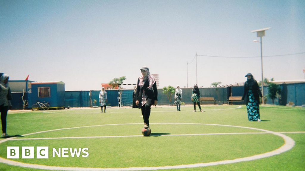 """How football can help to develop displaced persons  heal, and to grow"""""""