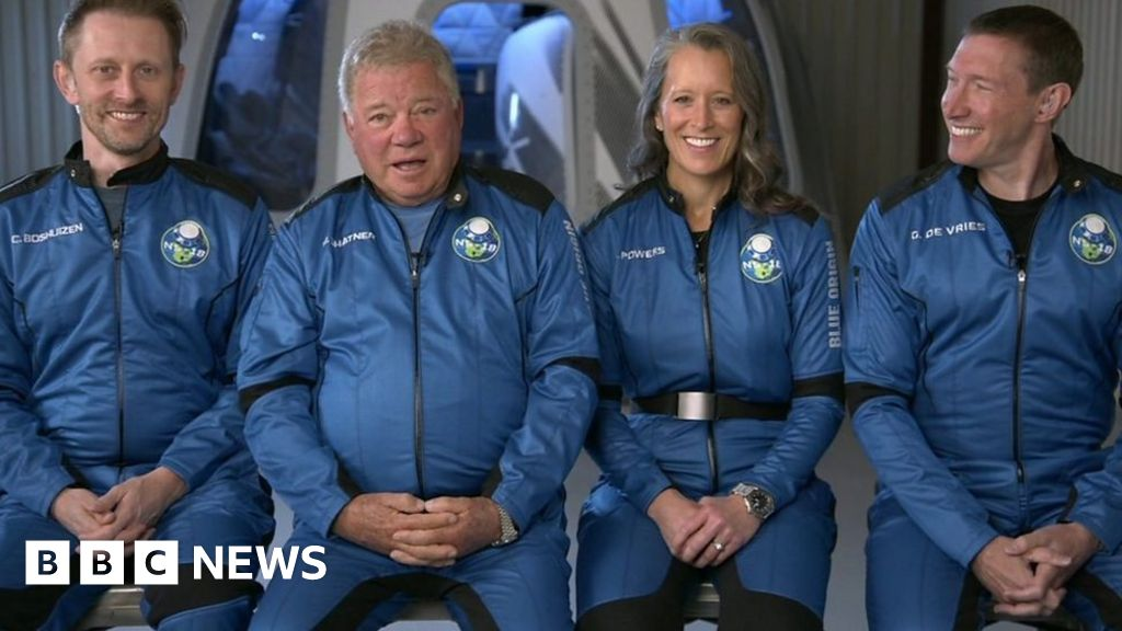 Star Trek's William Shatner on his plan to boldly go into space ...
